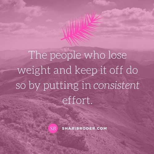 Forget Willpower! Effort is the Key to Successful Weight Loss | Weight Loss for Foodies