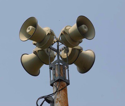 how to turn off the warning sirens