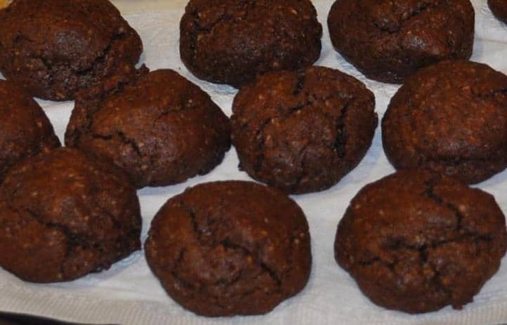 Chocolate Nut Mounds-This is a delicious, macaroon-like chocolate cookie that is gluten-free and easy to make.
