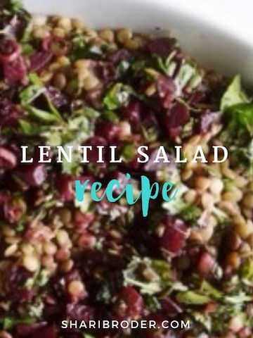 Lentil Salad Your Way | Weight Loss for Foodies