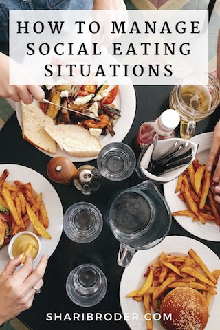 How To Manage Social Eating Situations | Weight Loss For Foodies