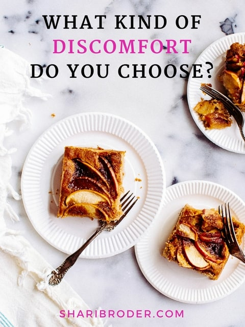 What Kind of Discomfort Do You Choose? | Weight Loss for Foodies