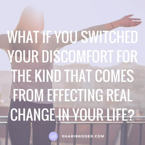 Which Kind of Discomfort Do You Choose? | Weight Loss for Foodies