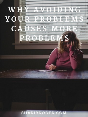 Why Avoiding Your Problems Causes More Problems | Weight Loss for Foodies