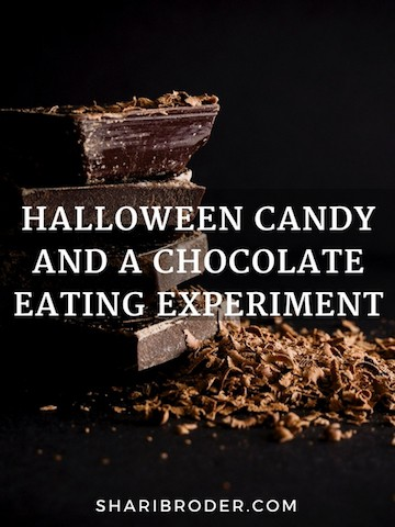 Halloween Candy and a Mindful Chocolate Exercise | Weight Loss for Foodies