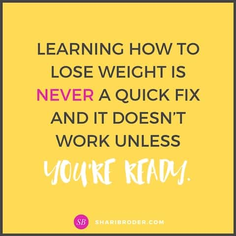 Are You Ready to Lose Weight For Good | Weight Loss for Foodies