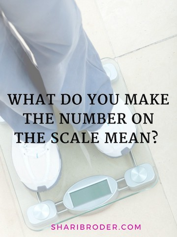 What Do You Make the Number on the Scale Mean? | Weight Loss for Foodies