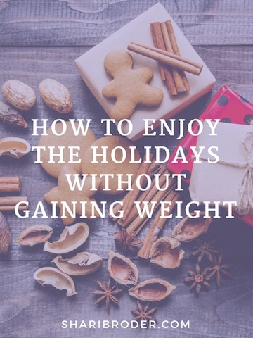 One Simple Mindset Hack to Enjoying Holiday Eating Without Gaining Weight | Weight Loss for Foodies