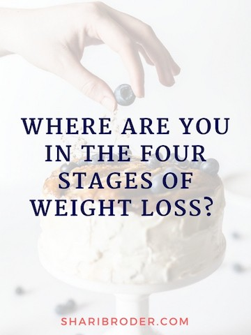 Where are You in the Four Stages of Weight Loss | Weight Loss for Foodies