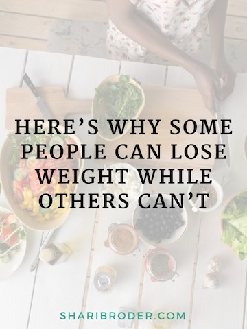 Here's Why Some People Can Lose Weight While Others Can't | Weight Loss for Foodies