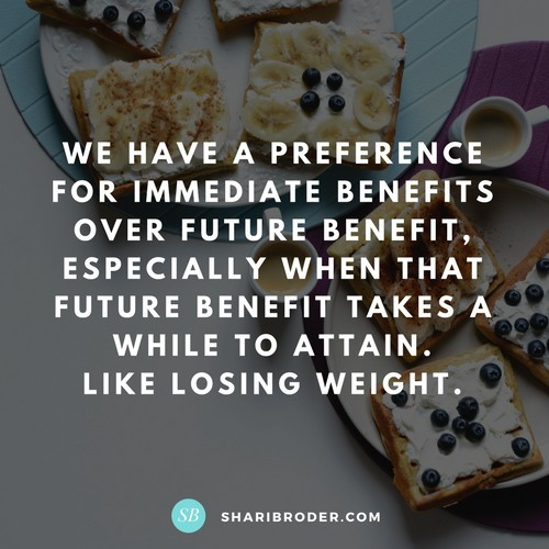 How to Put Your Long-Range Interests Ahead of Your Impulses | Weight Loss for Foodies