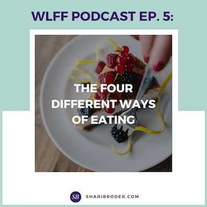 The Four Different Ways of Eating | Weight Loss for Foodies Podcast