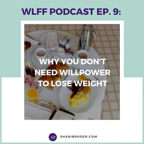 Why You Don't Need Willpower to Lose Weight | Weight Loss for Foodies Podcast
