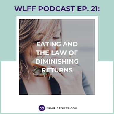 Eating and the Law of Diminishing Returns | Weight Loss for Foodies Podcast