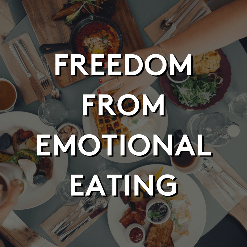 Freedom From Emotional Eating Challenge | Weight Loss for Foodies