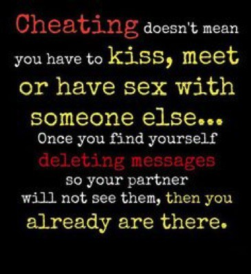 is an emotional relationship considered cheating