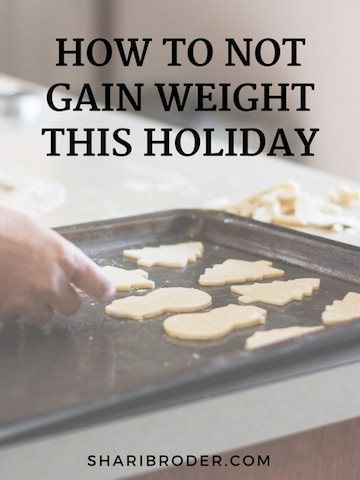 How to Not Gain Weight This Holiday | Weight Loss for Foodies