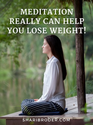 Meditation Really Can Help You Lose Weight! | Weight Loss for Foodies