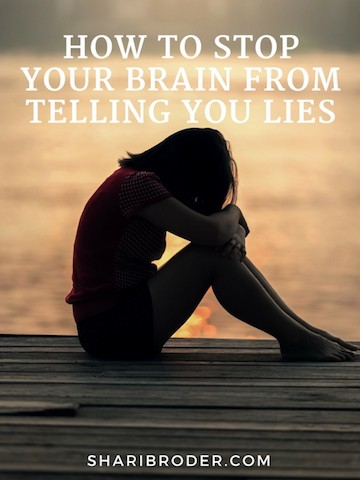 How to Stop Your Brain From Telling You Lies | Weight Loss for Foodies