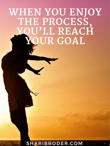 When You Enjoy the Process, You'll Reach Your Goal | Weight Loss for Foodies