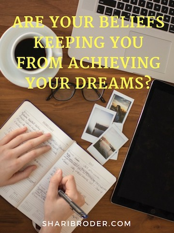 Are Your Beliefs Keeping You From Achieving Your Dreams? | Weight Loss for Foodies