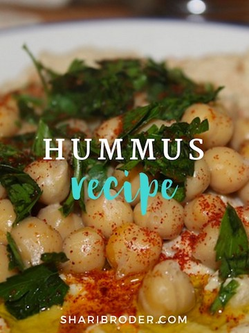 Shari's Hummus | Weight Loss for Foodies