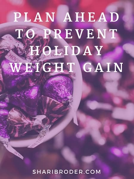 Plan Ahead to Prevent Weight Gain This Holiday | Weight Loss for Foodies