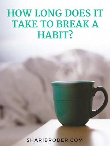 How Long Does It Take To Break A Habit? | Weight Loss For Foodies