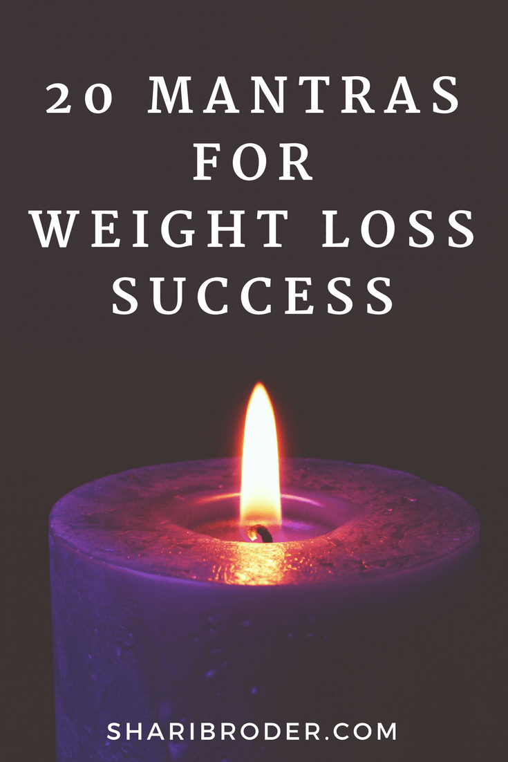 mantras, weight loss success, weight loss mantra, lose weight without diets, train your brain