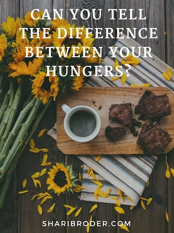 Can You Tell the Difference Between Your Hungers? | Weight Loss for Foodies