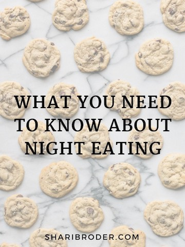 What You Need To Know About Night Eating - Weight Loss for Foodies