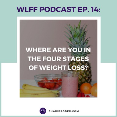 Where are You in the Four Stages of Weight Loss? | Weight Loss for Foodies Podcast