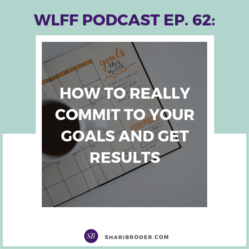 How to Really Commit to Your Goals and Get Results | Weight Loss for Foodies Podcast