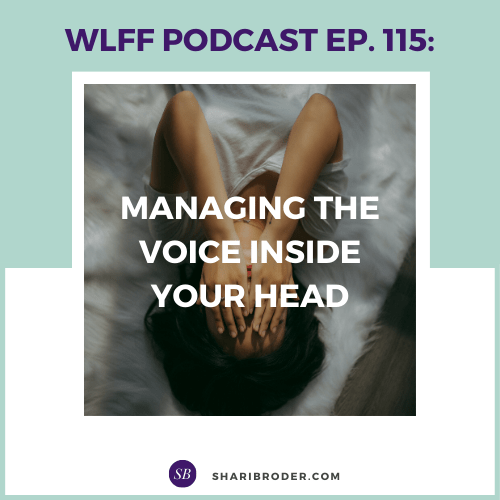 Managing the Voice Inside Your Head | Weight Loss for Foodies Podcast