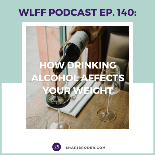 How Drinking Alcohol Affects Your Weight | Weight Loss for Foodies Podcast