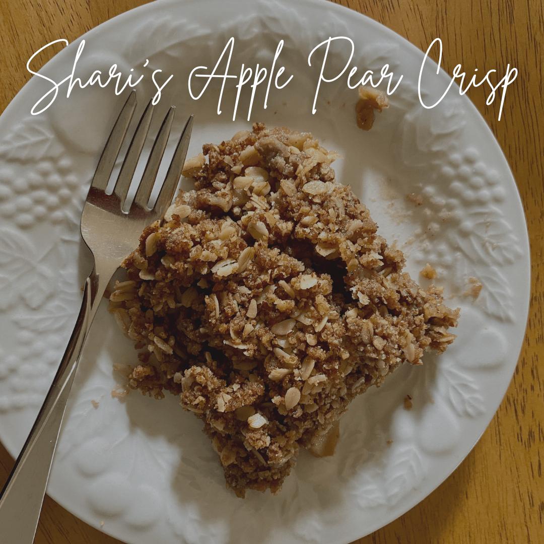 Shari's Apple Pear Crisp